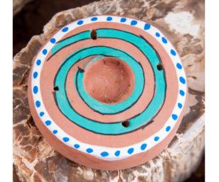 Süsse Kegel- und Stäbchenhalter - Spirale