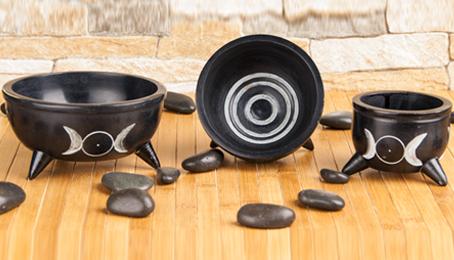 Räuchergefässe aus Speckstein