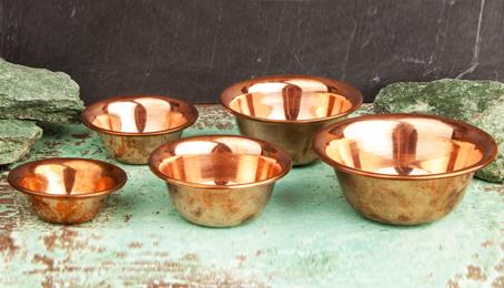 Räucherschalen Kupfer