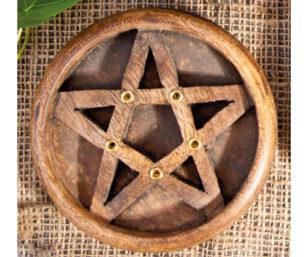 Holzhalter - Pentagramm