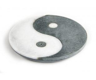 Speckstein und Marmor - Ying-Yang