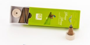 Ylang Ylang Räucherkegel - Green Line 16 g