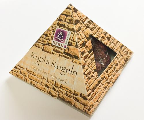 Kyphi - Das Räucherwerk der Pharaonen