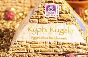 Kyphi Kugeln - Das Räucherwerk der Pharaonen