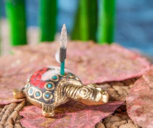 Räucherstäbchenhalter - Schildkröte
