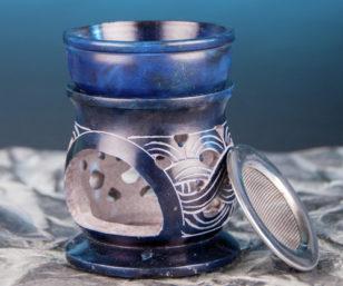 """Aromalampe """"Keltischer Knoten"""" mit Sieb"""