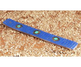 Räucherstäbchenhalter Jaipur blau