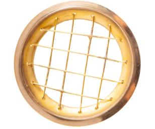 Räuchernetz aus Messing für 5-6 cm Schale