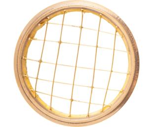 Räuchernetz aus Messing für 7-8 cm Schale