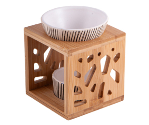 Aromalampe Bambus/Keramik